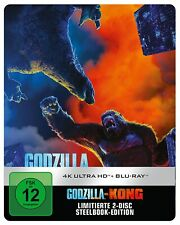 Godzilla vs. Kong [4K Ultra HD Blu-ray & Blu-ray Limited Steelbook /NEU/OVP]