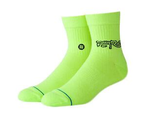 Stance Anthem A$ap Ferg QTR Neon Green/Black Socks M356D19AFQ-NEG
