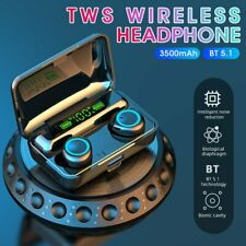 New listing Bluetooth 5.1 Wireless Earbuds Headphone Headset Noise Cancelling Tws Waterproof