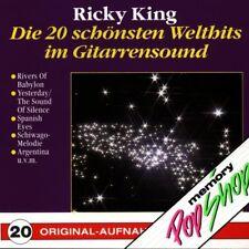 RICKY KING - DIE 20 SCHÖNSTEN WELTHITS IM GITARRENSOUND  CD NEW+
