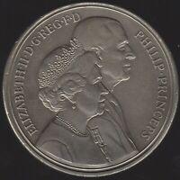 1997 Elizabeth II & Prince Philip Five Pounds Strike Error Coin| Pennies2Pounds