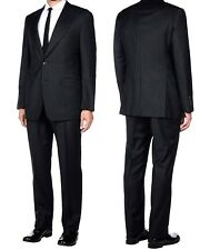 Gucci Italy Black Pinstripe Wool Suit 2 Pc Blazer Pants Men's Size 40R EUR 48R
