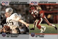 1990 Pro Super Bowl XXV Silver Anniversary HOF Football -  PICK YOUR CARD