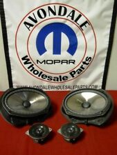 Dodge Chrysler Jeep KICKER Audio Speaker Premium Upgrade Mopar OEM