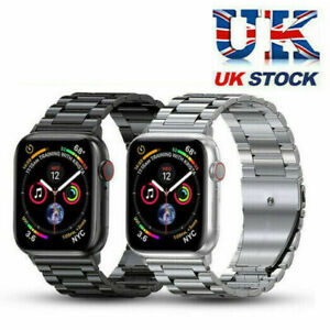 for Apple Watch Series SE 6 5 4 3 2 1 Stainless Steel iWatch Band Metal Strap