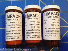 Limpach Fresh Cuts (3 Pairs) 790 tall 3/32 axle Orange From Mid America Raceway