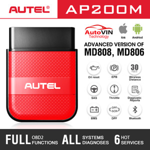 Autel OBD2 Bluetooth Scan Tool For IOS Android Car OBD II Code Reader Over MD808