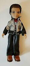 Bratz Boyz Dylan Brown Hair Green Eyes Jeans, Jacket, Beanie, Brown Shoes