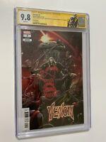 Venom #3 3rd Print CGC 9.8 SS x2 Cates & Stegman Rare Venom Sketch 1st Knull