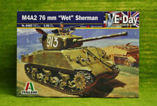 "M4A2 76 mm ""humide"" SHERMAN 1/35 scale italeri kit 6483"