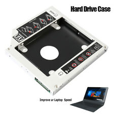SATA 2nd HDD SSD Disco duro Caddy Case para 9.5mm Laptop portátil CD / DVD-ROM