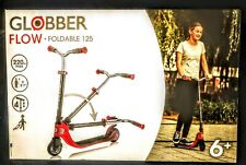 Globber Flow Foldable Scooter - Red