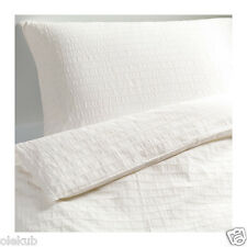 Ikea Ofelia Vass Twin Duvet Cover And Pillowcase White 301.330.32
