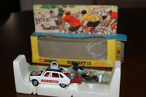 Corgi Toys Giftset 13 Renault tour de France just removed from its Original  box