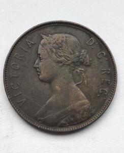 Canada  new foundland cent 1880