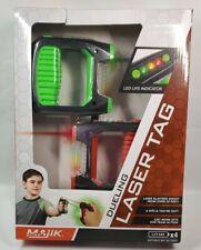 Wireless MAJIK Dueling Laser Tag Set, *Two Guns Game *Brand New, Sealed*