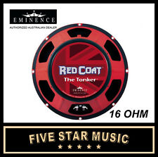 "EMINENCE THE TONKER RED COAT SERIES 12"" GUITAR SPEAKER 150 WATTS 16 OHM NEW"