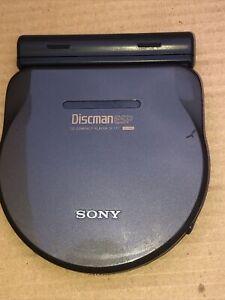 Sony Discman ESP Cd D 777 Rare  Working
