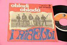 "I RIBELLI 7"" OBLADI OBLADA ( BEATLES ) ORIG ITALY 1968 EX"