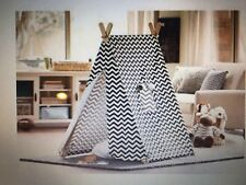 BRAND NEW Turtle Play Kid's Black and White Zig Zag Indoor Play Tent
