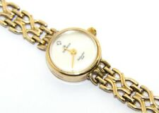 Ladies 9ct 9carat Yellow Gold & Mother of Pearl Sovereign Wristwatch