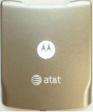 NEW MOTOROLA RAZR V3xx BATTERY DOOR BACK COVER- AT&T GOLD
