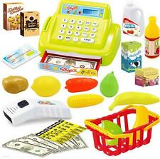 Pretend Play Cashier Scanner Supermarket cash register Children Educational Toy