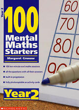 Year 2 (100 Mental Maths Starters), Gronow, Margaret, Very Good condition, Book