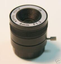 8.0MM CCTV Camera IR Lens CS MOUNT, Auto Focus,NO LED!