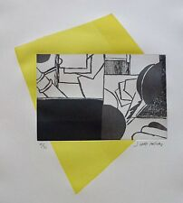 "JOAN GARDY ARTIGAS ""YELLOW SUGAR"" HAND SIGNED ORIGINAL ETCHING worked with Miro"