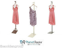 Planet Racks Boutique Apparel Clothing Form Display Stand Costumer