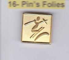 Pin's Folies Badge Albertville Olympic winter games 1992 Ski artistique