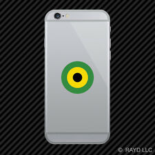 Jamaican Air Defence Force Air Wing Roundel Cell Phone Sticker Mobile Jamaica