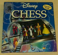 Disney Collectors Edition Chess Set In Used Mint Condition