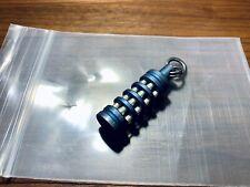 Dklaser Titanium 6 Trit Vial Lantern Blue Tritium Custom Rare GITD Light Ti EDC