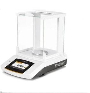Sartorius Practum213-1S Analytical Lab Balance 210 g x 0.001 g,Touch Screen,New
