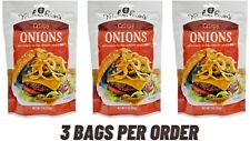Original Crispy Fried Onions, Baking Food Fried onion Hamburger Salad Toppings