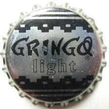 GRINGO LIGHT beer CROWN, Bottle Cap, Evansvile Brewing, Evansville, INDIANA 1996
