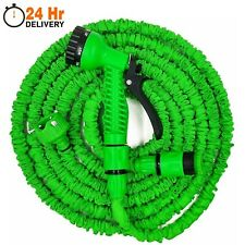 More details for expandable garden hose pipes expanding hose pipe + water spray gun 50ft - 200ft