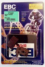 HAYES STROKER PISTE/Carbone/GRAMME EBC vélo vtt plaquette frein à disque (cfa467
