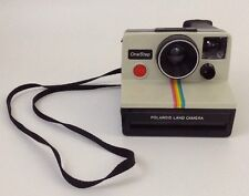 Polaroid SX-70 OneStep Rainbow Stripe Land Camera Vintage 1970s
