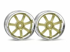 HPI Racing - Rays Gram Lights 57S-Pro Wheel, 3mm OffSet, Chrome/Gold