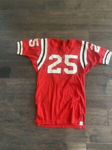 Vintage Game Used Durene Spanjian Football Jersey Size 42