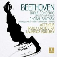 Laurence Equilbey - Beethoven: Triple Concerto & Choral Fantasy (NEW CD)