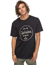 Quiksilver Mañana diapositivas camiseta 2018 Black m Eqyzt04774-kvj0