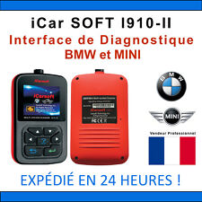 Valise Diagnostic BMW & MINI - iCarSOFT I910-II - INPA K+DCAN DIS ICOM NCS