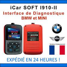 Valise Diagnostique BMW & MINI - iCarSOFT I910-II - INPA K+DCAN DIS ICOM