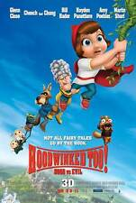 HOODWINKED TOO! HOOD VS. EVIL Movie POSTER 27x40 D Hayden Panettiere Joan Cusack