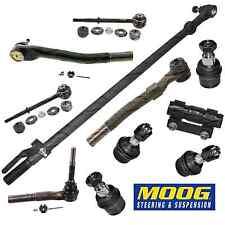 Steering Rebuild Kit Tie Rod End Drag Link (MOOG) Fits Ford F250 Super Duty 4WD