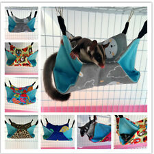 Pet Hammock for Ferret Chinchilla Rat Rabbit Hanging Warm Soft Toy House Bed Us
